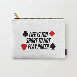 Play Poker | cards online gift idea Carry-All Pouch