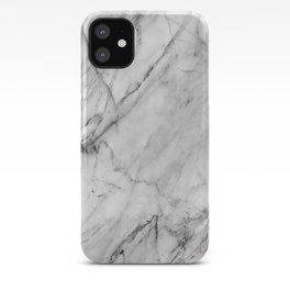 Carrara marble iPhone Case