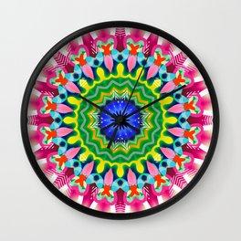Mandala No.13 Wall Clock