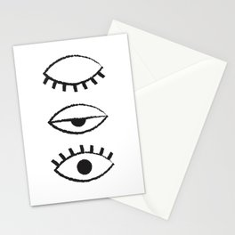 off and on Stationery Cards