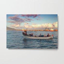 Fishermen Metal Print