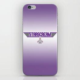 Starscream iPhone Skin
