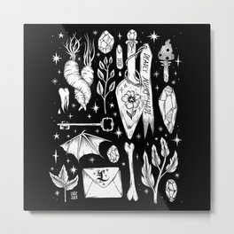 into the WITCH'S GARDEN Metal Print
