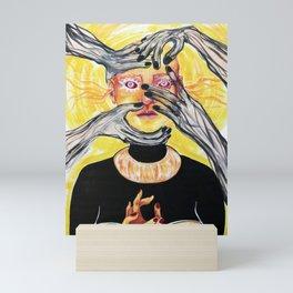 The Nightmares of an Angel Mini Art Print