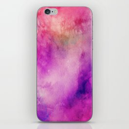 Watercolor background iPhone Skin