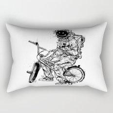 Void in Space (Blk) Rectangular Pillow