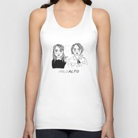 cactei Tank Tops featuring Palo Alto by ☿ cactei ☿