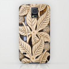 Bronze Art deco leaves Slim Case Galaxy S5