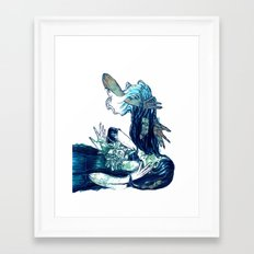 They Creep Framed Art Print
