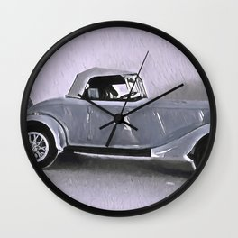 Driving Along In My Automobile Wall Clock