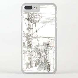 Beijing.China.Xintaicang  hutong 新太仓胡同 Clear iPhone Case