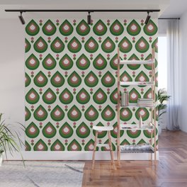 Drops Retro Confete Wall Mural