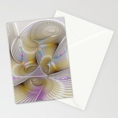 Place of Fantasy, Abstract Fractal Art Stationery Cards