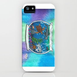 A Bowl Of The Ocean iPhone Case
