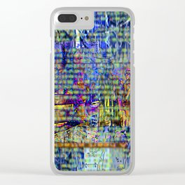 That Chameleons Song Clear iPhone Case