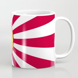Japanese Flag And Inperial Seal Coffee Mug