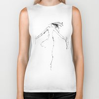 shiva Biker Tanks featuring Shiva I by Simi Design