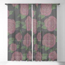 Rosus Rosa Sheer Curtain