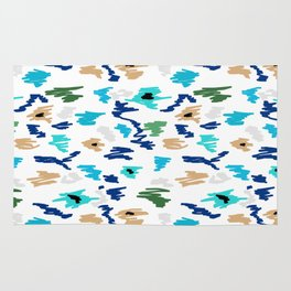 Abstract Doodle marker Rug