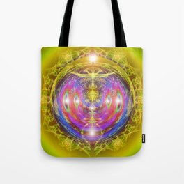 "Solar Code ""New Earth Frequency"" Tote Bag"