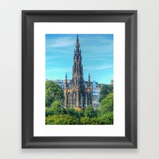 Scott Monument Framed Art Print