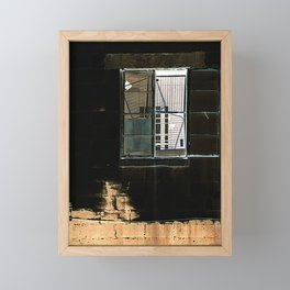 Window Framed Mini Art Print