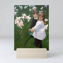 "John Singer Sargent ""Garden Study of the Vickers Children"" Mini Art Print"