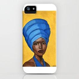 Blue Halter iPhone Case