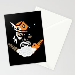 The king of vape #society6 #decor #buyart #artprint Stationery Cards