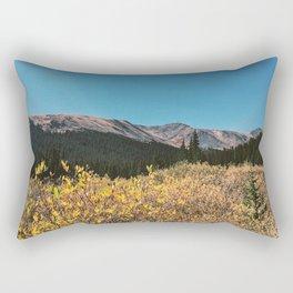 Fall Mountain Rectangular Pillow