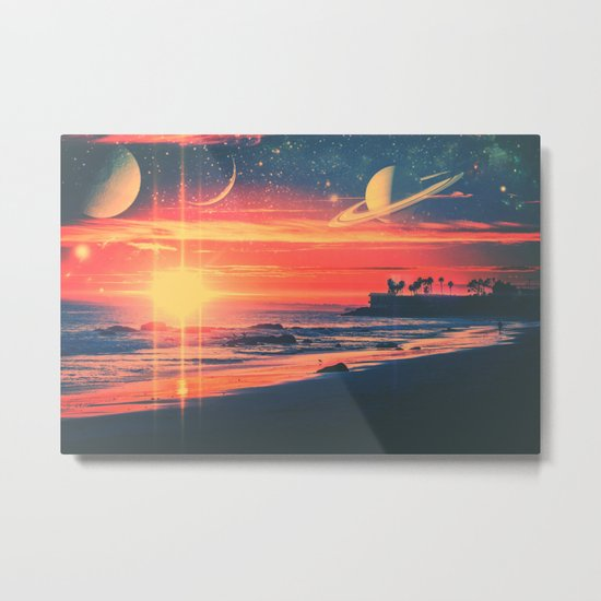 A Fax From the Beach Metal Print