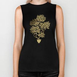 Bonsai Fruit Tree – Gold Palette Biker Tank