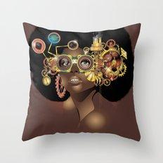 Steamfunk Throw Pillow
