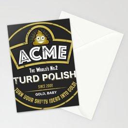 Acme Turd Polish (graphic) Stationery Cards