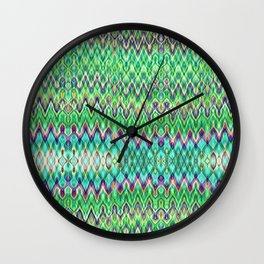 Missoni Style Mint Wall Clock