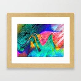 energy overload Framed Art Print