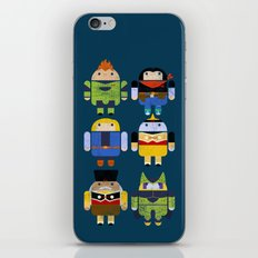 The Next Androids iPhone & iPod Skin