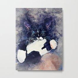 cat jagoda Metal Print