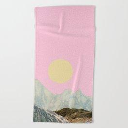 Late Summer Sun Beach Towel