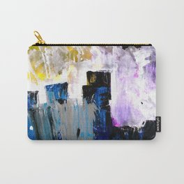 Abstract Section Carry-All Pouch