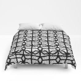 Vintage Window Grille Cross Stitch Pattern #8 Comforters