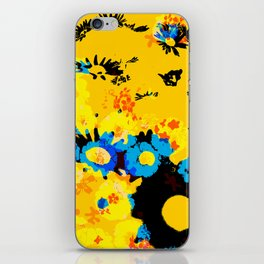 floral 001. iPhone Skin