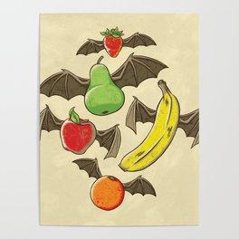 Fruit Bats Poster