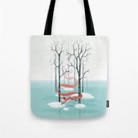 spirit Tote Bags featuring Forest Spirit by Freeminds