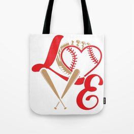 Baseball Softball Mom Fan Gift Tote Bag