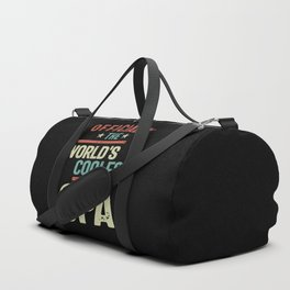 Officially The World's Coolest Opa   Father and Grandfather Gift Duffle Bag