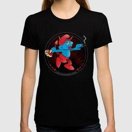 The Little Blue Blazed Devil T-shirt
