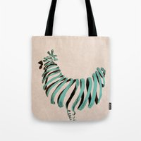 chicken Tote Bags featuring Chicken by Claire.H