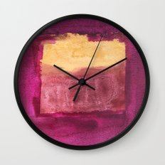 Color abstract 3 Wall Clock