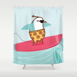 """Venus"" [surfer] Shower Curtain"